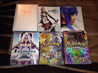 Lot of Player's Guide Player Guide Xenosaga Final Fantasy Ect