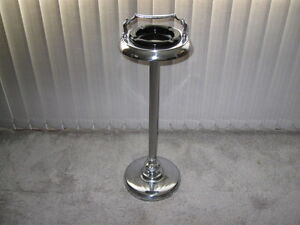 CHROME ASHTRAY STAND