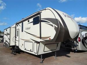 2018 Wildcat 323MK with bedroom slide