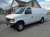 2005 FORD E350 Super Duty DIESEL Extended Cargo ONLY 148,000KMs