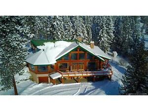 7981 Silver Star Rd, Vernon BC - Spectacular Log Home on 5 Acres