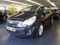 *** FORSALE *** VAUXHALL CORSA 2012 (62 PLATE) 1.2L MANUAL*** £5,800