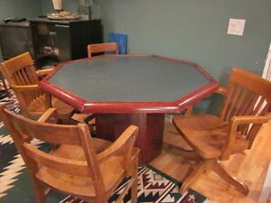 Games Table and Chairs