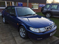 Saab 9-3 2.0i auto 1998.5MY S in blue drives superb for its age