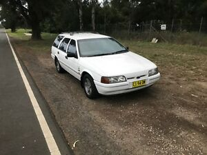 1992 Ford falcon Ghia station wagon 5L auto Cranebrook Penrith Area Preview