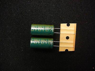 Sanyo Ce0j392mswanc 3900uf 6.3v Radial Electrolytic Capacitor New 2pkg