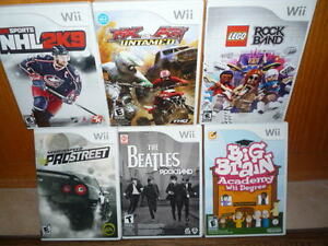 WI Games For Sale