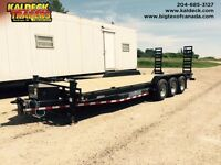 2015 Load Trail Tri-Axle Dove with Pintle Hitch