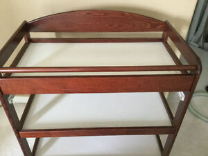 Excellent Condition Caramina Change Table From West Coast-Solid Strathcona County Edmonton Area image 2