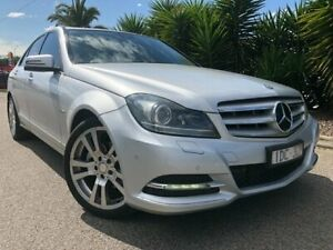 2011 Mercedes-Benz C250 W204 MY11 CDI Elegance BE Silver 7 Speed Automatic G-Tronic Sedan Hoppers Crossing Wyndham Area Preview