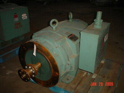 493 Hp Reliance Ac Electric Motor 3600 Rpm Fr 5008ds Dpbb 2300 V Eok