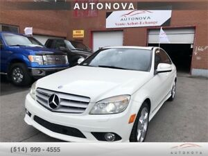 ***2008 MERCEDES C350***FULL/4MATIC/TOIT/CUIR/NAV/438-820-9973.