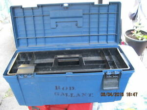 x  Mastercraft tool box or best offer