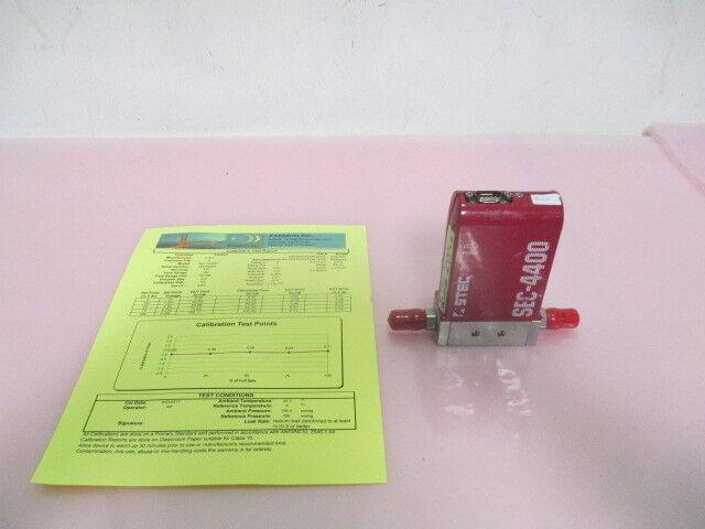 STEC SEC-4400M Mass Flow Controller, MFC, Cl2, 100 SCCM, Calibrated, 423524