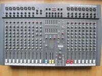 SPIRIT SOUNDCRAFT POWER STAITION 1200 POWERED MIXER