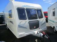 Bailey Pegasus 646 twin axle 6 berth