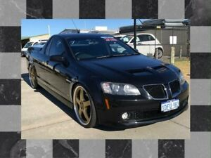 2009 Holden Commodore VE MY10 SS-V Black 6 Speed Manual Utility