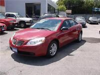 2006 PONTIAC G6 *** ONLY 162 KM *** ICE COLD AIR *** LOADED ***