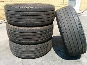 215/55R16 set of 4 Continental Used (inst.bal.incl) 75% tread left