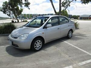 2001 Toyota Prius NHW11R Hybrid Silver Continuous Variable Sedan Epping Whittlesea Area Preview
