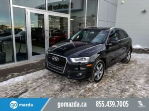 2015 Audi Q3 Progressiv LEATHER SUNROOF HEATED SEATS GREAT SHAP
