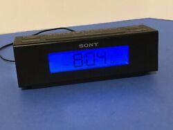 Sony ICF-C707 Nature Sounds Alarm Clock with Digital AM/FM Radio Black color