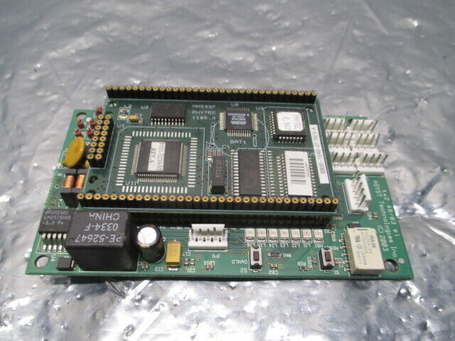 Asyst 3200-1198-01 PCB w/ MM535F PHYTEC 1105.2 Daughter Board, 100774