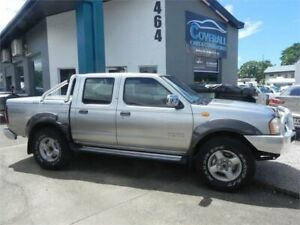 2006 Nissan Navara D22 ST-R (4x4) Silver 5 Speed Manual Dual Cab Pick-up