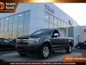 2018 Ford F-150 PLATINUM, 700A, SYNC3, NAV, TWIN PANEL MOONROOF,
