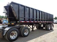 2013 TITAN 26'FT STEEL END DUMP TRAILER