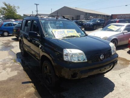 2006 Nissan X-Trail T30 II ST Black 5 Speed Manual Wagon Fairfield East Fairfield Area Preview