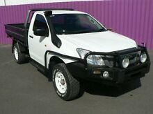 2012 Isuzu D-MAX TF MY12 SX (4x4) White 5 Speed Manual Cab Chassis Dubbo 2830 Dubbo Area Preview