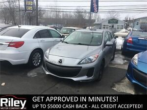 2013 Mazda Mazda3 GS-SKY STARTING AT $107.41 BI-WEEK