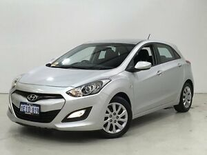 2013 Hyundai i30 GD2 Active Silver 6 Speed Sports Automatic Hatchback Edgewater Joondalup Area Preview