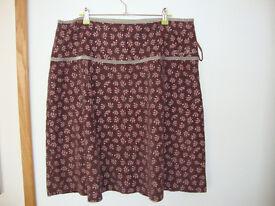 Weird Fish Corduroy Skirt