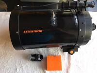 Celestron C8 sct ota . schmidt cassegrain telescope 1990's large aperture excellent views classic