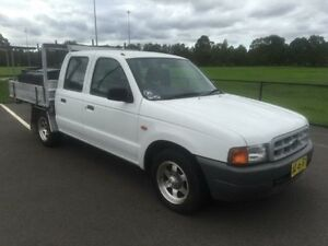 2002 Ford Courier PE GL White 5 Speed Manual Cab Chassis Revesby Bankstown Area Preview