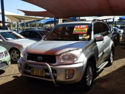 2001 Toyota RAV4 ACA21R Edge Silver 4 Speed Automatic Wagon