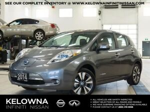 2014 Nissan Leaf SL Premium w/Quick Charge Package