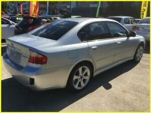 2007 Subaru Liberty B4 MY07 Premium Silver 4 Speed Automatic Sedan