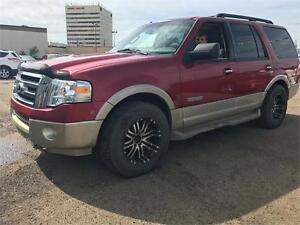 2007 Ford Expedition Eddie Bauer LOADED w/warranty! DVD CHEAP!
