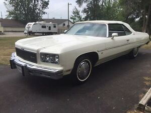 **WANTED 1971-1976 CHEVROLET CAPRICE & IMPALAS CASH PAID!!!**