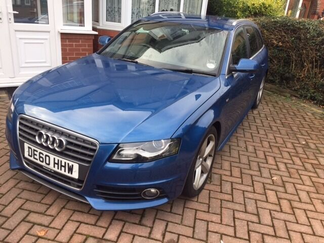 audi a4 b8 avant tdi dpf s line 170bhp diesel sat nav. Black Bedroom Furniture Sets. Home Design Ideas