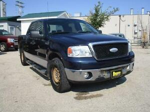 2006 FORD F-150 XLT SUPERCREW, $7,450 HAS SAFETY AND WARRANTY