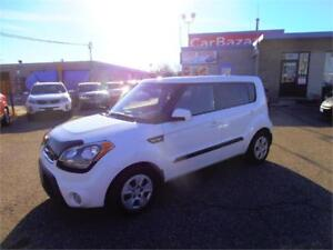 2012 kIA SOUL 4 CYLINDER AS SAVER SPACIOUS EASY CAR FINANCING