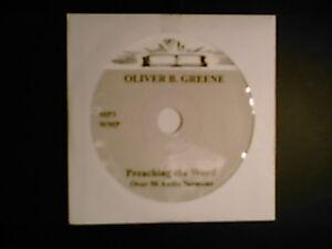 Oliver B. Greene, OVER 50 Audio Sermons, MP3 one CD