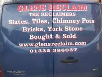 Reclaimed french roofing tiles two types available