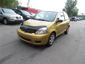 2004 TOYOTA ECHO HATCHBACK AUTOMATIC T.PROPRE  TEL: 514-568-0581