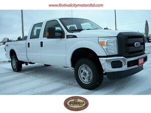 2012 Ford F-350 Crew Cab | Long Box | 4x4 | CERTIFIED