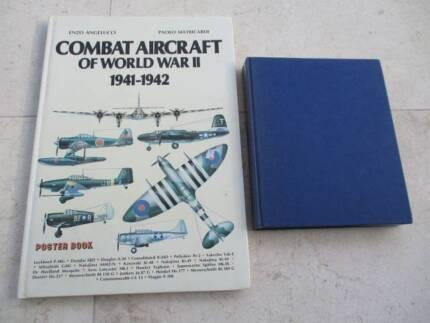 COMBAT AIRCRAFT OF WORLD WAR 2 & MODERN AIRCRAFT ARMAMENT BOOKS Bronte Eastern Suburbs Preview